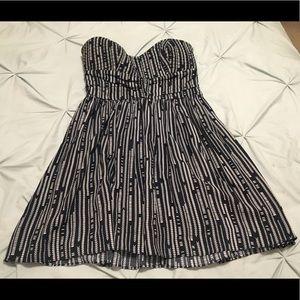 Bar III strapless dress